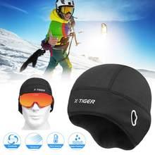 2020冬サイクリングキャップ防風熱スキーキャップランニングスキーバイク用乗馬帽子男性の女性mtb自転車サイクリング帽子