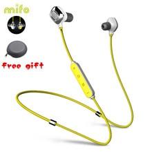 Mifo i7 Wireless Bluetooth Headset IPX8 Waterproof Sport Neckband Headphones Bass Neck Magnetic Attraction Earphone