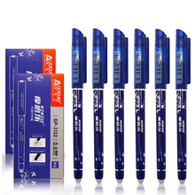 3/6 pcs/set Erasable Pen 0.5mm Blue/Black /Red Ink Magic Ballpoint for Shool Office Writing Supplies Exam Spare Stationery