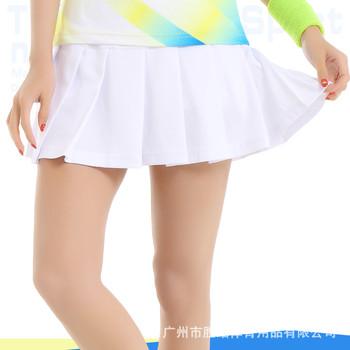 Nowe damskie spódnice do badmintona skorty do ping-ponga poliester oddychająca szybkoschnąca spódnica do tenisa spodenki do tenisa stołowego odzież sportowa tanie i dobre opinie LEOSOXS CN (pochodzenie) WOMEN Dobrze pasuje do rozmiaru wybierz swój normalny rozmiar Nylon Polyester fiber 100 ( ) Solid color