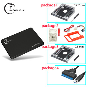 "Ingelon Ssd Harde Schijf Sata 2.5 ""120 Gb 240 Gb 480 Gb Solid State Hdd 64 Gb Harde Schijf met Rack Usb 3.0 Adapter Bracket Voor Laptop(China)"