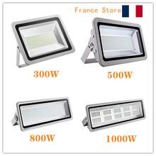 2pcs 500W/800W/1000W 220V LED Flood Light Floodlight Spotlight Waterproof 6500K Outdoor Lamp Coldwhite for Garden