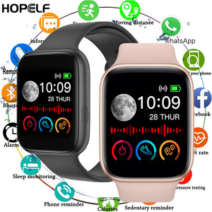New 2020 1.54inch Smart Watch Men Women Fitness Sport Heart Rate Monitor Smart Watch Clock Smartwatch Android for Bluetooth
