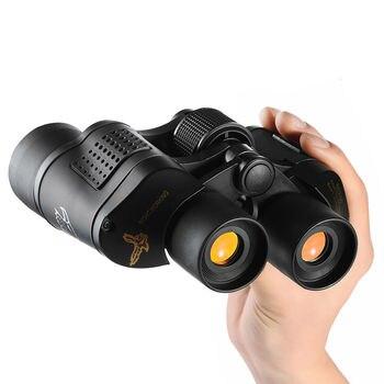 High Clarity Telescope 60X60 Binoculars Hd 10000M High Power For Outdoor Hunting Optical Lll Night Vision binocular Fixed Zoom 5