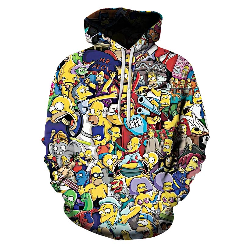 Christmas Simpson Kids Hoodie 3d Print Santa Claus Cartoon Children Hoody Pullovers Sweatshirt For Girls Family Matching Outfits Hoodies Sweatshirts Aliexpress Printed on the front with a silhouette of freddy looking. aliexpress
