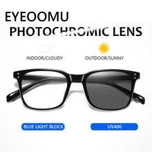 Очки солнцезащитные фотохромные с защитой от синего света uv400