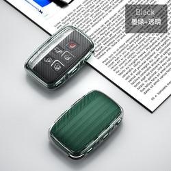 Caso chave do carro para jaguar xf xj para land rover freelander 2 capa de proteção auto titular escudo chaveiro carro-estilo acessórios