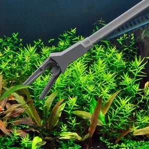 Image 3 - プライヤー魚タンクストレートピンセット鉗子クリップ水族館クリーニングクランプ植物剪定トングプラスチックユニバーサルクリーニングツール 50 センチメートル