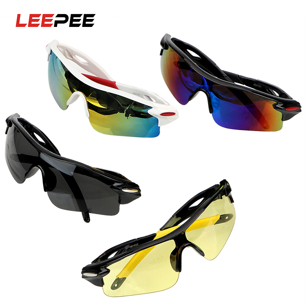 LEEPEE Motocross Sunglasses Explosion-proof UV Protection Car Night-Vision Glasses Night Vision Drivers Goggles