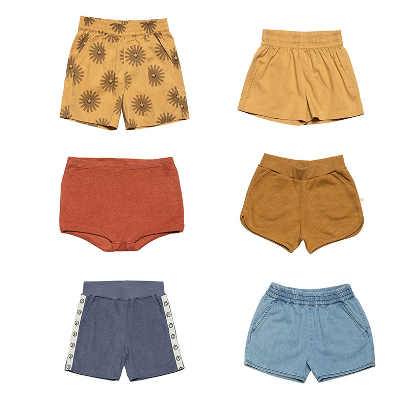 EnkeliBB 2020 New Wyn Kids Summer Hawaii Shorts Boys Girls Brand Design Sun Print Summer Bottoms Child Unisex Stylish Shorts