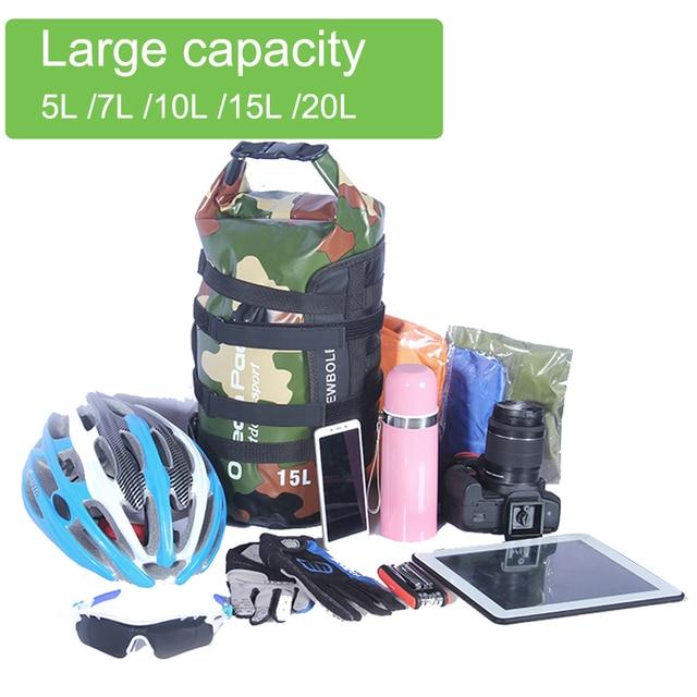 Sacoche de guidon de vélo NEWBOLER – sac de Tube avant de vélo, étanche, Pack de panier de guidon de vélo, sacoche de cadre avant, accessoires de vélo 4