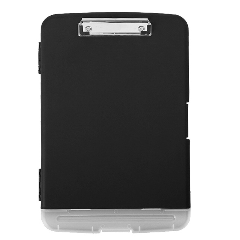 Big Capacity A4 Wordpad Document Organizer Box Clipboard File Folder Briefcase Case Study Work Stationery