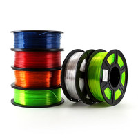 Filamento per stampante 3D PETG 1.75mm 1kg/2.2lbs materiali di consumo per filamenti in plastica materiale PETG per stampante 3D