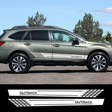 2 Pcs. Car Stickers, Stylish DIY Vinyl Film Decals, Tuning Styling Automobiles For Subaru Forester 15 Outback Accessorie