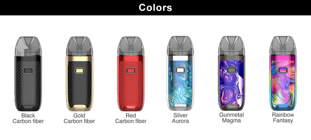 Original GeekVape Bident Vape Pod System 950mAh Built-in Battery & 3.5ml/2ml Capacity Bident Pod electronic cigarette Kit