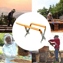 Beekeeping Equipment Multifunction Nest Box Pliers European Style Frame Grip With Shovel Holder Grip Useful Tools for Farmer(China)