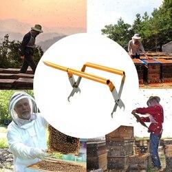 Sprzęt pszczelarski wielofunkcyjne szczypce do gniazd w stylu europejskim uchwyt do ramek z uchwytem do łopaty użyteczne narzędzia dla rolnika 12
