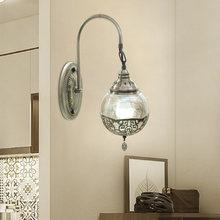 Artpad современный настенный светильник с стеклянным абажуром