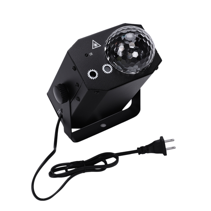 AC110-220V 10W LED Light 3W 3RGBs Stage Light Lighting Fixture Supported Auto-Running/Sound Control/Remote Control For Pub Club