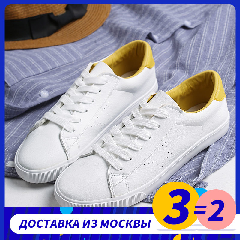 GOGC 2019 Soft Shoes White Sneakers Ladies Shoes Casual Women Summer Spring Breathable Hole Leather Women Shoes Flat G786