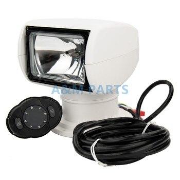 Remote Control Boat Spotlight Truck Car Marine Remote Searchlight 12V 100W Bulb
