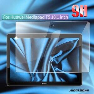 Vidro temperado para huawei mediapad t5 10 AGS2-W09/l09/l03/w19 9h 10.1 tablet tablet tablet protetor de tela película protetora para huawei t5 10