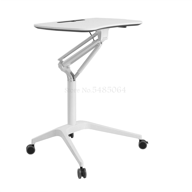 Стационарный стол Frankwood, прикроватный подъемный стол, стол для ноутбука, мобильный стол для речи