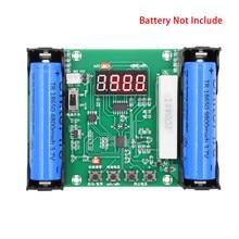 Probador de capacidad de batería de litio, XH-M240, 18650 maH, mwH, descarga Digital, medidor de batería de carga electrónica