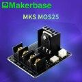 Makerbase MKS MOS25 Запчасти для 3D-принтера нагревательный контроллер для теплового штрангпресса MOS модуль Поддержка большого тока 25A