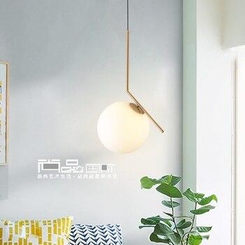 Светодиодный постмодерн скандинавские железные стеклянные пузыри дизайнерские светодиодные подвесные светильники для столовой кухни рес...