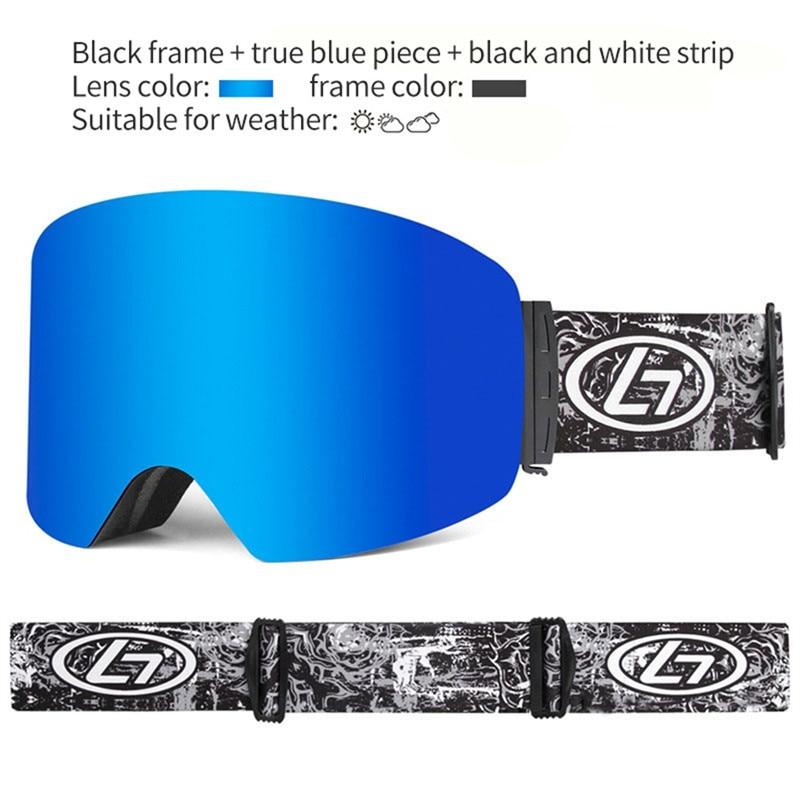 Ski Goggles Snow Glasses Men UV400 Anti-fog Coatings Unisex Skateboard Snowboard Skiing Eyewear Women Sunglasses Winter Sports