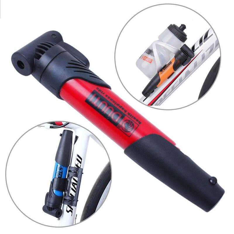 Мини-насос для велосипеда, велосипедный насос, портативный велосипедный воздушный насос для шин, шариковый ручной насос, высокопрочный нас...