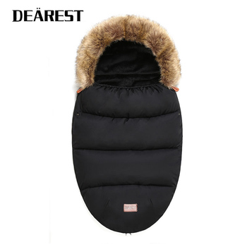 DEAREST Sleeping Bag Can Be Fixed With Baby Stroller Winter Baby Envelop
