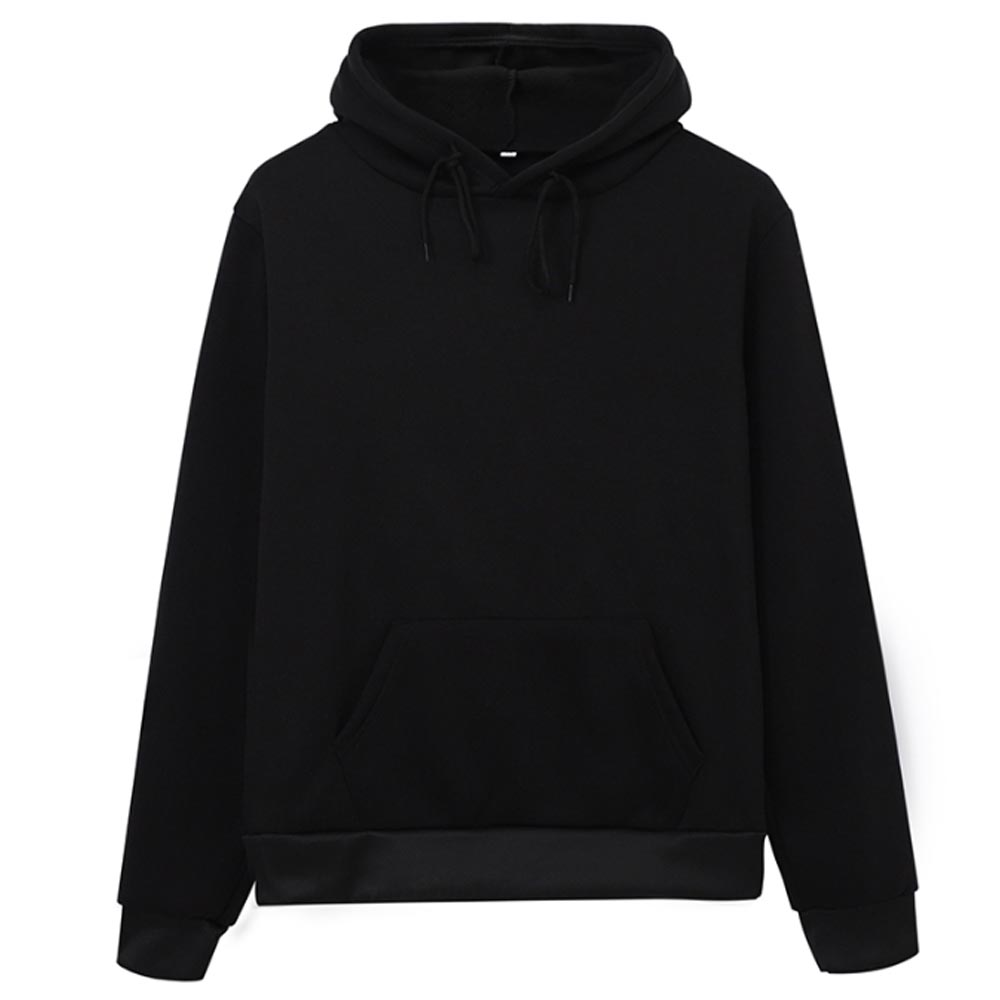 Hoodies Women Sweatshirt Casual Solid Colors Velvet Thickening Warm Tops 2020 Winter Long Sleeve Oversized Pullover With Pocket 2