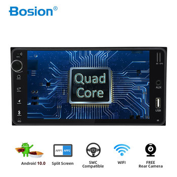 Bosion Android 10.0 car dvd for toyota corolla 2 Din Universal car radio with navigation Bluetooth Wifi BT car stereo gps player image