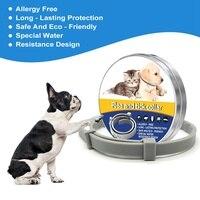 Dog Cat Collar Anti Flea Ticks Mosquitoes Outdoor Protective Pet Collar Killing Flea Adjustable Waterproof Collar Pet Supplies