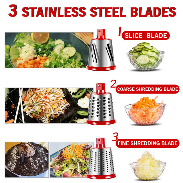 Manual Vegetable Cutter Slicer Kitchen Accessories Multifunctional Round Rotate Mandoline Slicer Potato Cheese Kitchen Gadgets 4