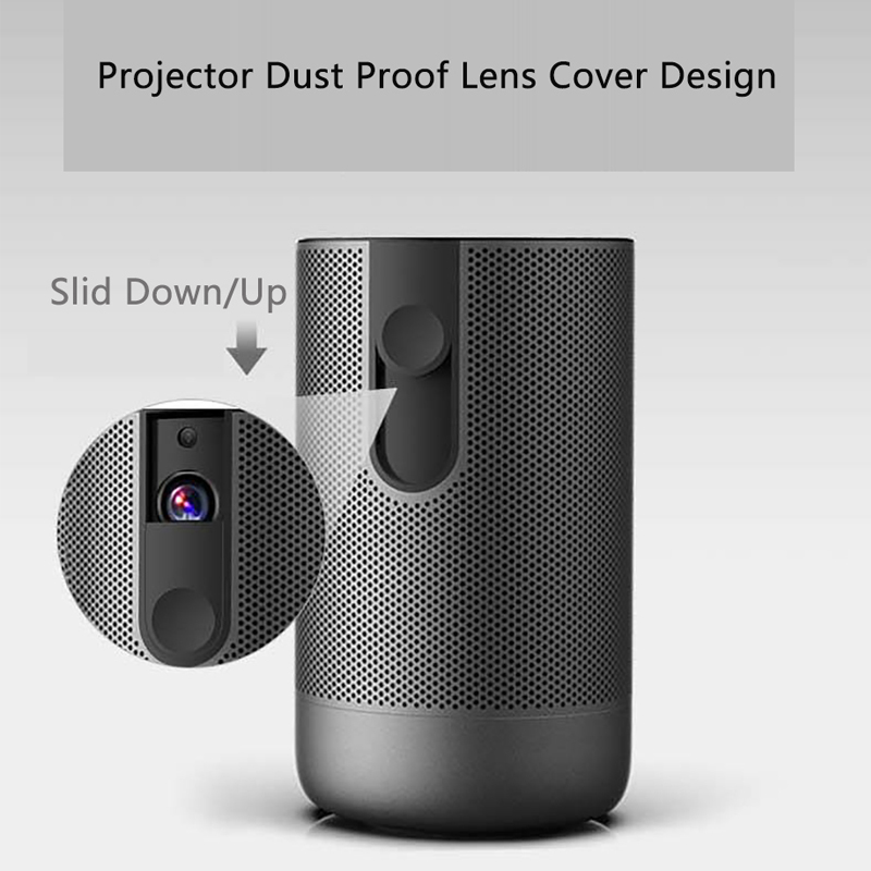 Smartldea D29 native1920x1080 Projetor Full HD Android 7.0 (2G + 16G) 5G wifi DLP Proyector apoio 4K 3D ZOOM video game Projetor-2