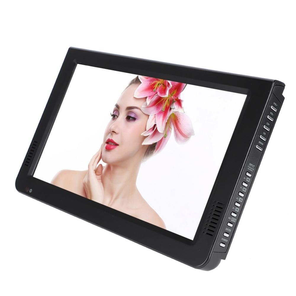 10 inch DVB-T-T2 16:9 Portable TFT-LED HD Digital Analog Color TV Television Player 15