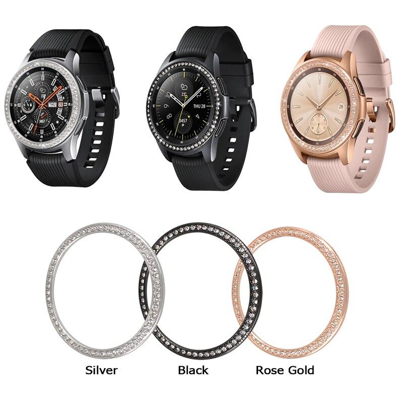 Samsung Galaxy Watch Diamond Bezel Smart Watch Cover for Samsung Watch 46MM 42MM Gear S3 Bezel Ring Smart Accessories