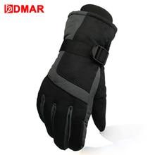 Ski Gloves Waterproof Gloves Snowboard Heated Motorcycle Climbing Gloves Warm Snowmobile Snow Gloves Men Kids все цены