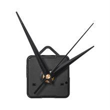 1 sztuk czarne dłonie DIY kwarcowy czarny zegar ścienny mechanizm ruchu naprawa części cichy tanie tanio CN (pochodzenie)