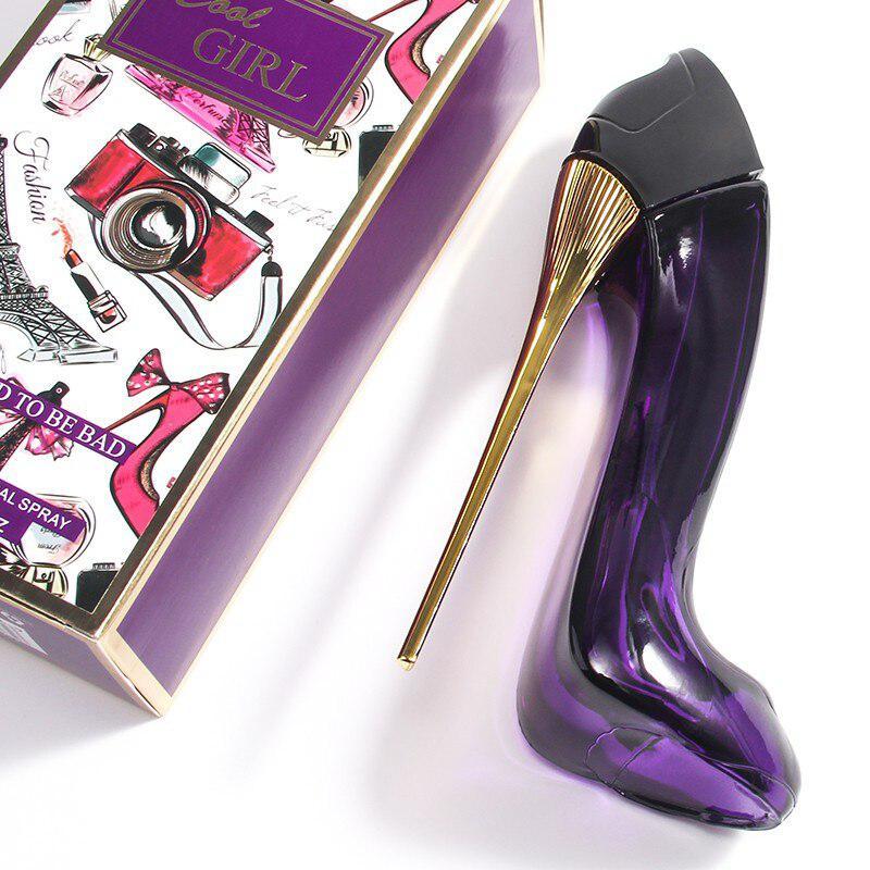 Яркие Гламурные туфли на высоком каблуке 85 мл; женские ароматы в форме духов; ароматы распылителя; Модные женские ароматы с цветами и