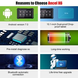 Image 3 - Ancel X6 OBD2 Scanner Bluetooth Professional Obd 2 Car Tools ABS Airbag Oil EPB DPF Reset Automotive Scanner Car Diagnostic Tool