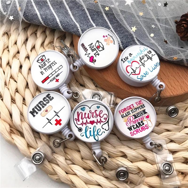 Unique badge reel for nurses Badge holder For doctors Cute accessories for nurses