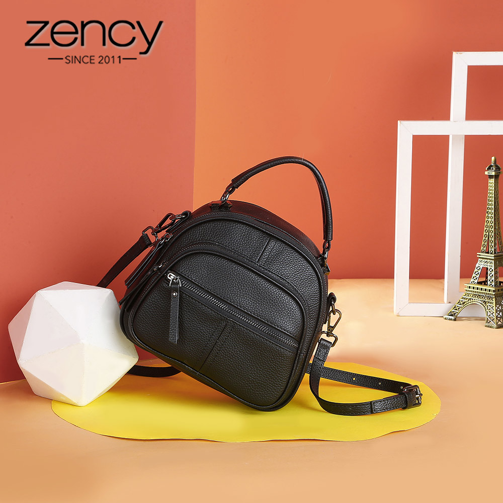 Image 2 - Zency Womens Backpack Made Of Genuine Leather Daily Casual 