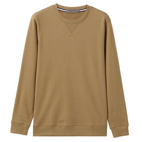 Giordano Men Sweatshirt Solid Pullover Sweatshirt Men Long Sleeve Fashion Terry Mens Clothes Sudadera Hombre Moleton Masculino 10