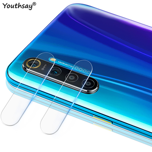 2PCS For OPPO Realme XT Glass Camera Lens Protector Film For Realme XT 5 6 X50 Pro Glass For Realme XT Protective Glass(China)