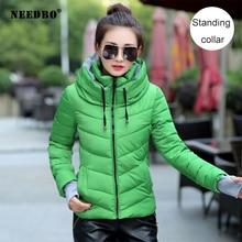 NEEDBO Women Down Jacket Brands Plus Size Winter Ultra Light Down Jacket Women High Quality Jacket Woman Coat Warm Slim Jacket цена