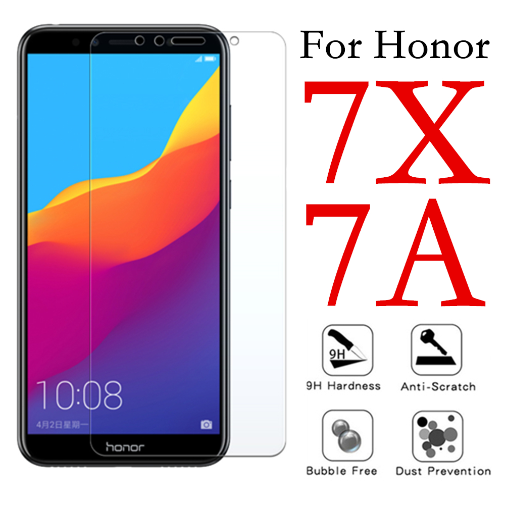 Protective glass on for Huawei <font><b>Honor</b></font> <font><b>7X</b></font> tempered glas 7A Huawey Honer a7 x7 Hono7 a x screenprotector <font><b>verre</b></font> <font><b>tremp</b></font> sheet cam film image